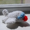 mini stuffed amigurumi airplane free crochet pattern