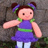 Wee Fairy Bluebell sale crochet pattern