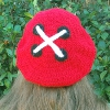Hot Button Beret free crochet pattern