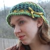 Cabbage Rose Cap free crochet pattern