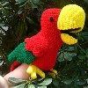 Chaco Parrot Puppet sale crochet pattern