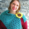 Chicory Shoulder Wrap free crochet pattern