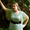 Cilantro Summer Tunic free crochet pattern