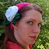 Dahlia Headband free crochet pattern
