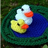 Duck Pond Playset free crochet pattern