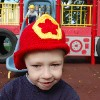 Fireman Hat free crochet pattern