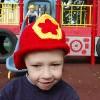 Fireman Hat free crochet pattern