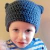 Flat Hat free crochet pattern