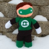 My Hero Green Lantern sale crochet pattern