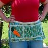 Green Thumb Garden Apron free crochet pattern