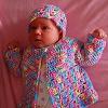 Jellybean Baby Set free crochet pattern