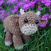Sweet Little Cow sale crochet pattern