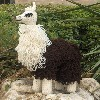 lloopy stuffed llama crochet toy pattern