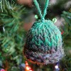 Tunisian Mini Hat Ornament free crochet pattern