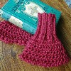 Mulberry Wristwarmers free both pattern