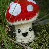 Happy Little Mushroom free crochet pattern