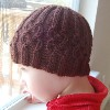 nottingham cabled hat free knitting pattern
