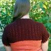 Nutmeg Shrug free crochet pattern
