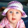 Pansy Sun Hat free crochet pattern