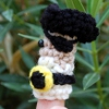 Pirate King Finger Puppet free crochet pattern