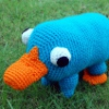 Plushie Pet Platypus free crochet pattern