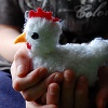 Pocket Chicken free crochet pattern