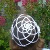 Renaissance Rose Cap free crochet pattern