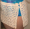 Petal Stitch Sarong free crochet pattern