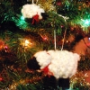 Sheep and Lamb Ornaments sale crochet pattern