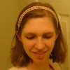 Simple Lace Headband free knitting pattern