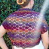 Sonata Shrug free crochet pattern