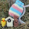 Spring Finger Puppets free crochet pattern