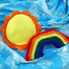 Sunshine and Rainbows free crochet pattern