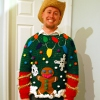 Tacky Christmas Sweater free crochet pattern