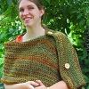 Woodland Cabin Wrap free crochet pattern