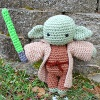 My Friend Yoda sale crochet pattern