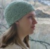 simple circle hat free crochet pattern tutorial