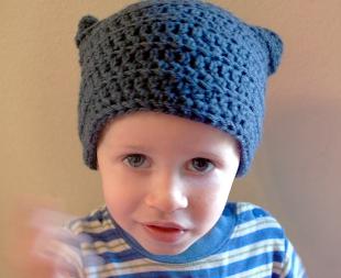 flat hat free easycrochet hat pattern