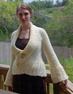 genevieve sweater free crochet pattern