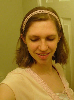 Little Treasures: Lace headband