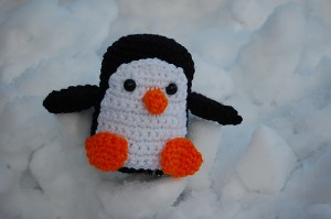 joe penguin free amigurumi crochet pattern