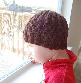 nottingham cabled hat free knitting pattern><p style=