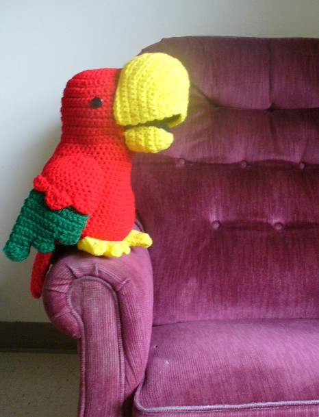 Chaco Parrot Puppet Crochet Pattern Inner Child Crochet