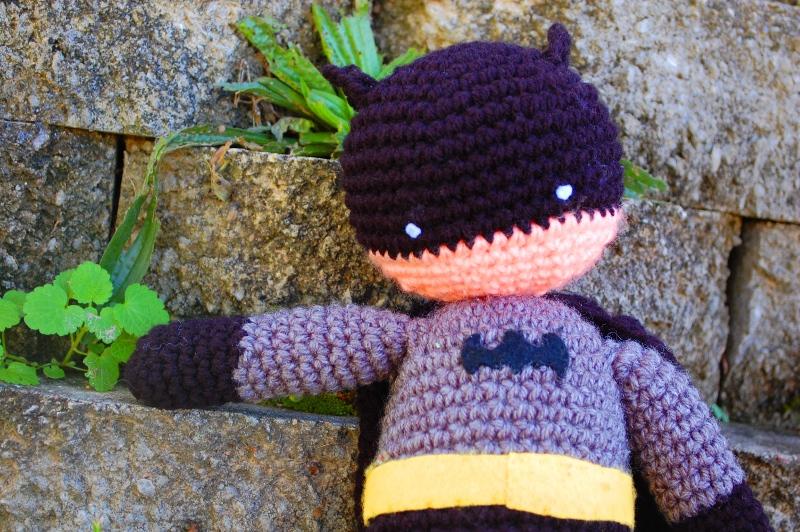 My Hero Batman Plush Crochet Pattern Inner Child Crochet