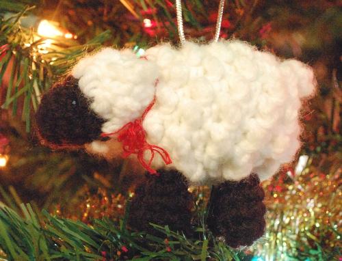 Sheep and Lamb Christmas Ornaments Crochet Pattern - Inner Child Crochet