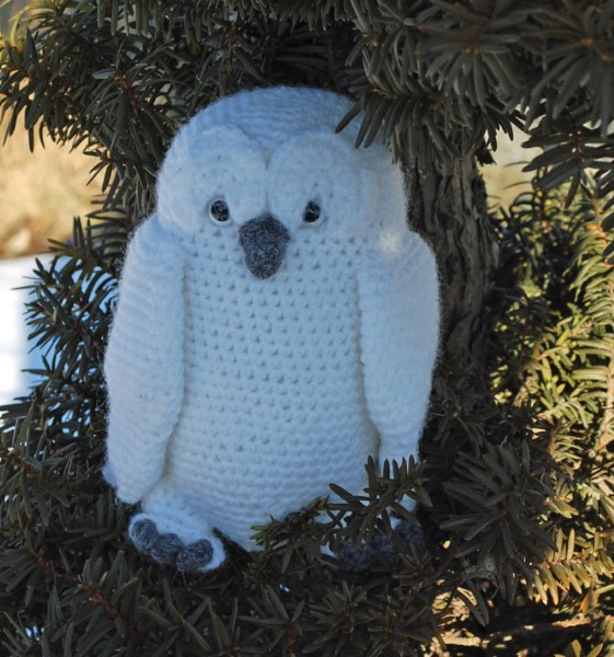 Crochet Patterns Free Owl : Great Snowy Owl Crochet Pattern - Inner Child Crochet