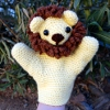 Cuddly Lion Puppet sale crochet pattern