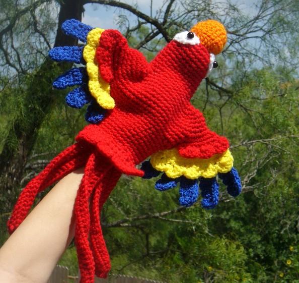 hand puppet - Crochet Me