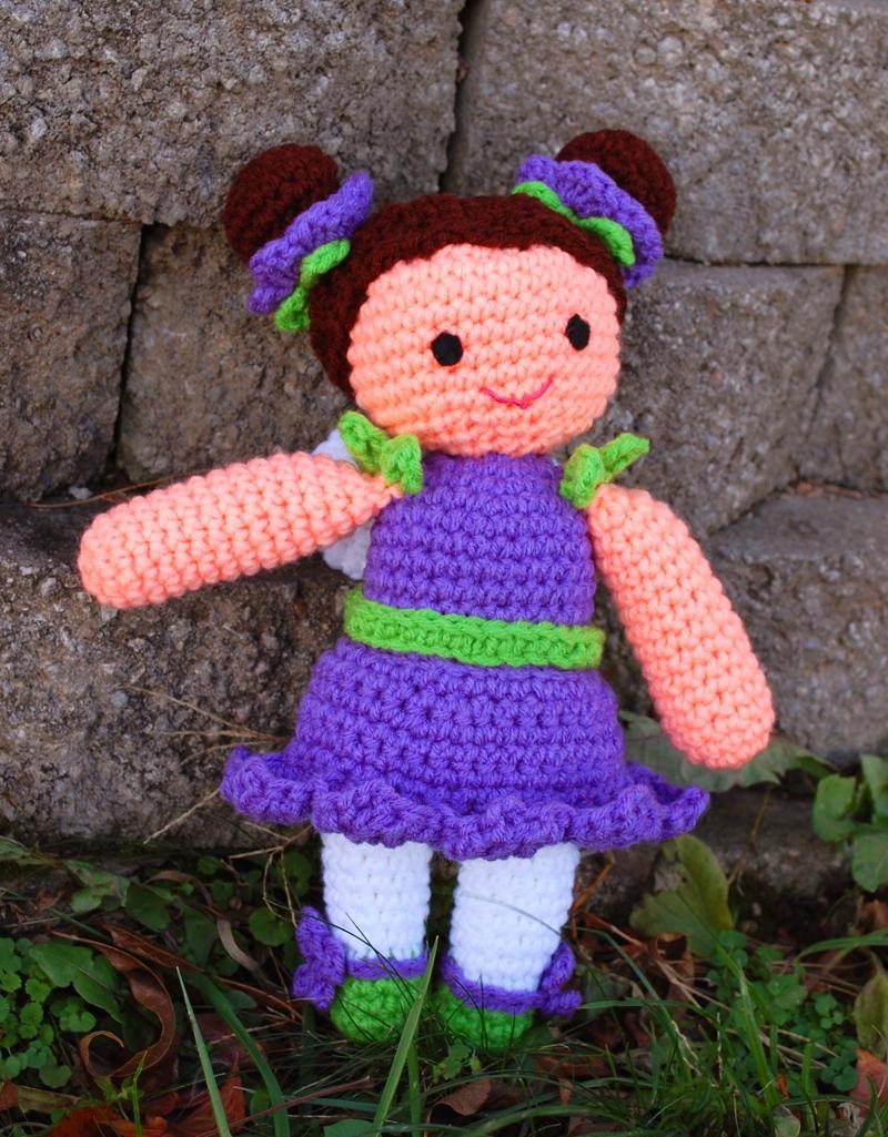 Wee Fairy Bluebell Crochet Doll Pattern Inner Child Crochet