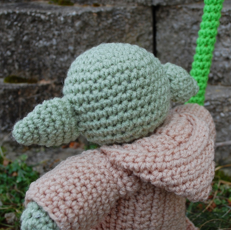 Crochet Yoda Pattern : My Friend Yoda Plush Crochet Pattern - Inner Child Crochet